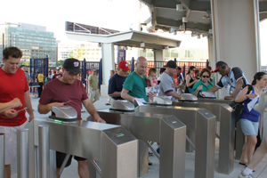 Washington Nationals turnstile