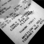 restaurant check