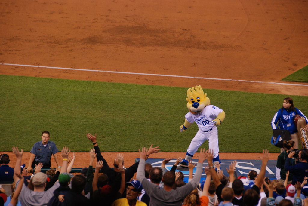 kansas city royals mascot