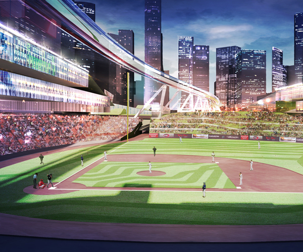 baseball stadium populous