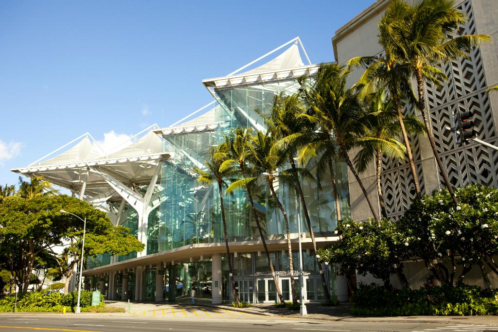 Hawaii Convention Center - credit Dana Edmunds