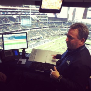 Paul Turner at AT&T Stadium